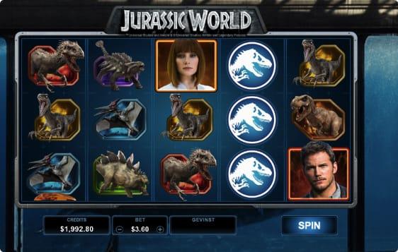 Jurassic World Spillemaskine
