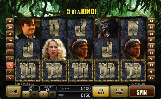 King Kong spillemaskine