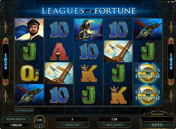 Leagues of Fortune Spillemaskine