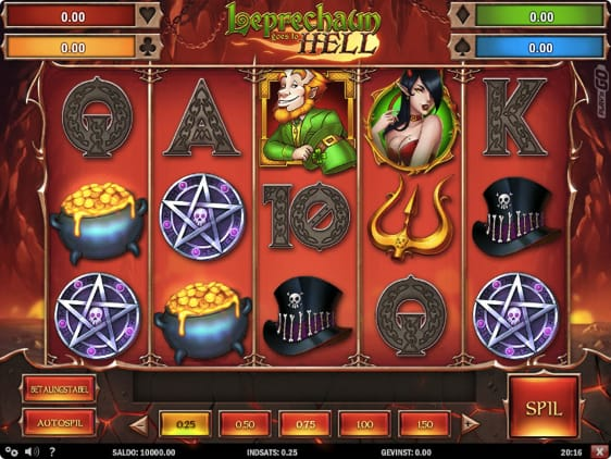 Leprechaun Goes to Hell automat med free spins