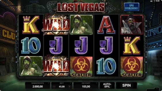 Lost Vegas spilleautomat