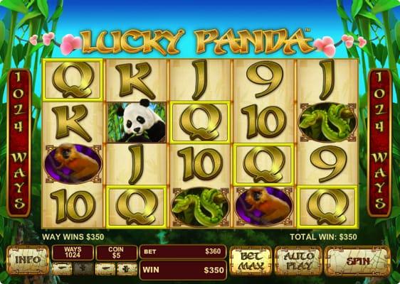 Lucky Panda Spillemaskine