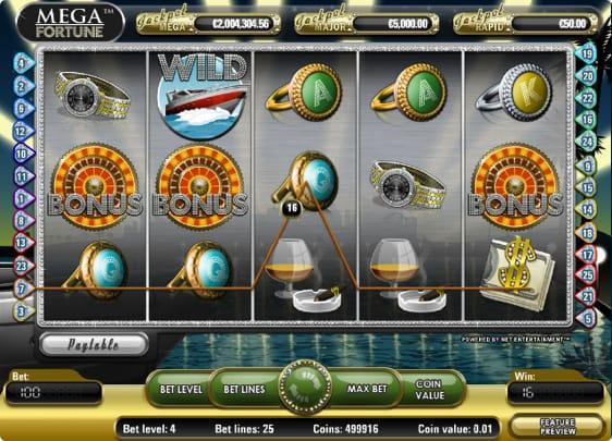 Mega Fortune spillemaskine