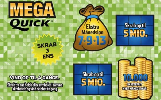 Mega Quick Skrab: Vind en ekstra månedsløn