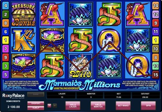 Mermaid's Millions spillemaskine