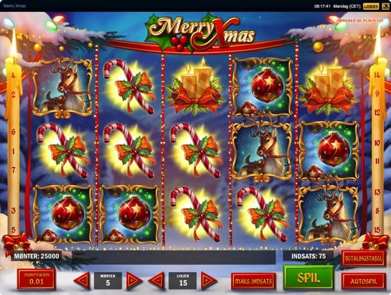 Merry Xmas spilleautomat