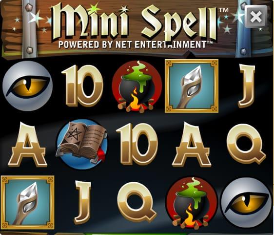 Mini Spell Spillemaskine