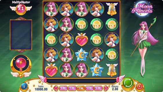 Moon Princess spilleautomat