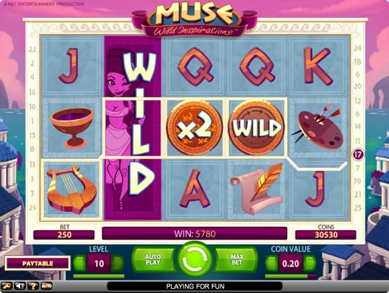Muse: Wild Inspiration Spillemaskine