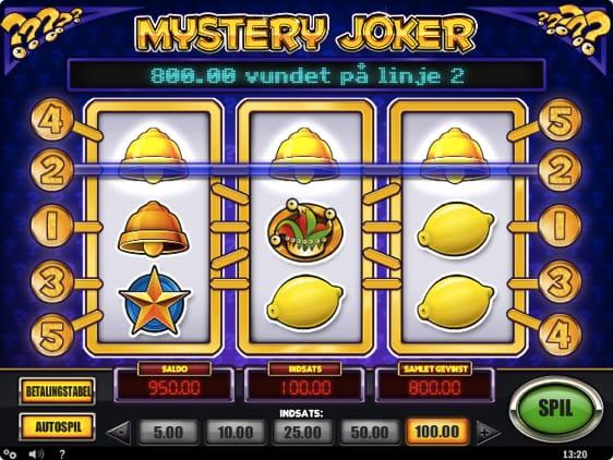 Mystery Joker Spillemaskine