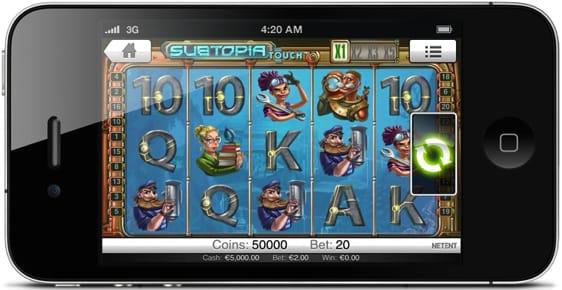 Spillemaskiner på mobilen