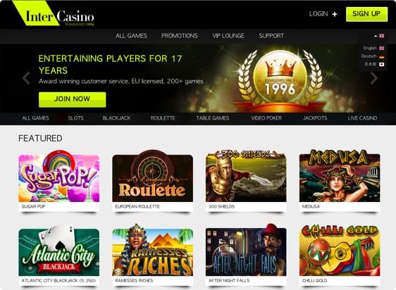 Responsive casino design