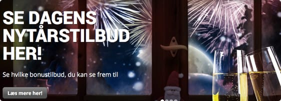 Skyd nytåret ind med en casino bonus og free spins