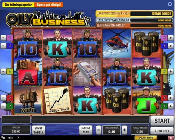 Oily Business Slot Machine
