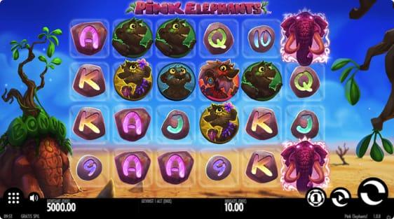 Pink Elephants spillemaskine