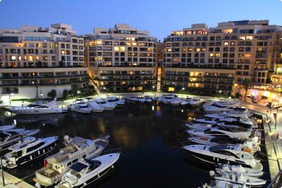 Portomaso på Malta