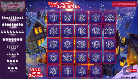 Julekalender fra Danske Spil