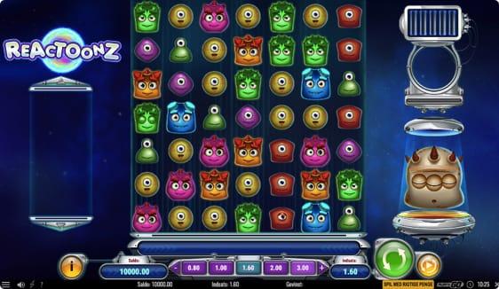 Reactoonz spillemaskine er fyldt med bonusfunktioner