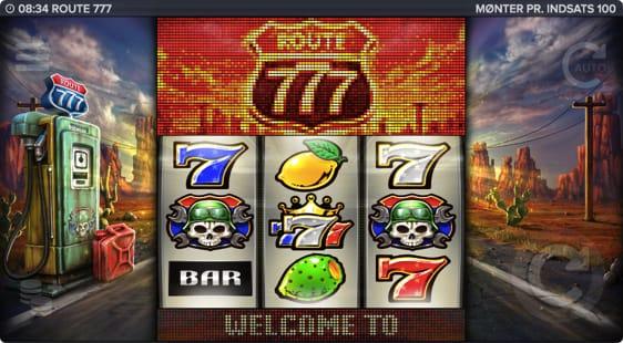 Route 777 spillemaskine – en amerikansk spilleautomat fra Elk Studios