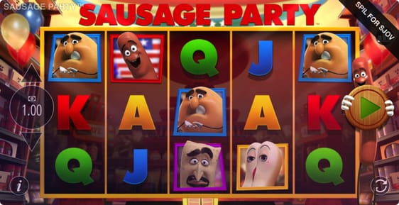 Sausage Party spillemaskine