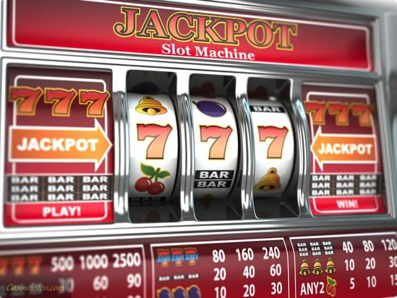 Jackpot spillemaskine