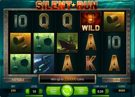 Silent Run Spillemaskine