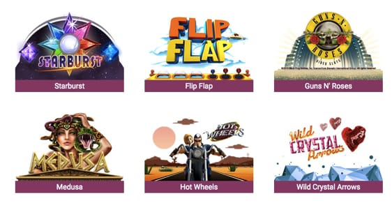 Spillemaskiner og slots hos Simba Games DK