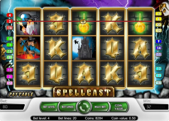Spellcast spillemaskine