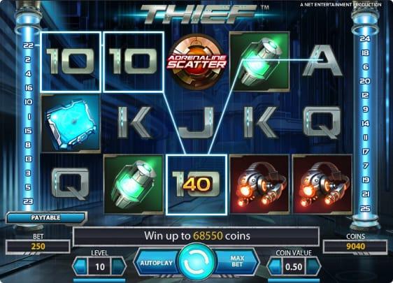 Thief spillemaskine