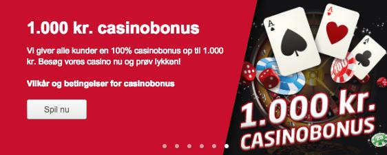 Start hos Tipico Casino med en bonus på 1.000 kr!