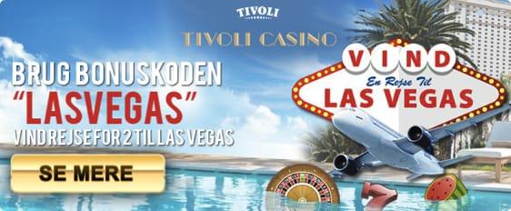 Vind en rejse for 2 personer til Las Vegas