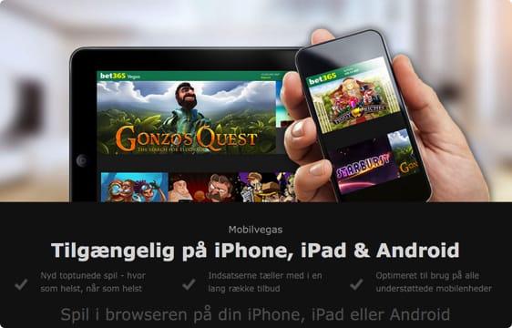 Spil casino på mobilen  – Du kan dog ikke betale med MobilePay