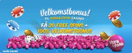 VeraJohn Casino Bonuskode