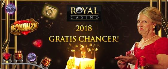 Vind 2018 free spins hos RoyalCasino – Godt nytår