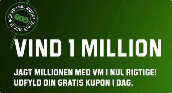 Vm 2018 Konkurrence Vind 1 Million Kr Med Unibet