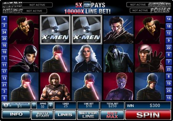 X-men Spillemaskine