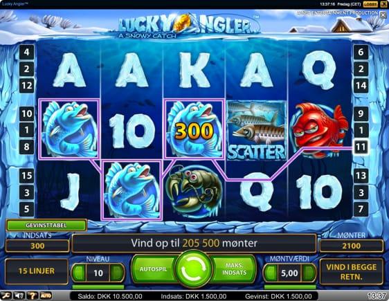 Lucky Angler Spilleautomat