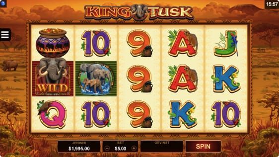 King Tusk Spillemaskine fra Microgaming