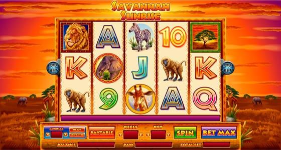 african safari slot machine