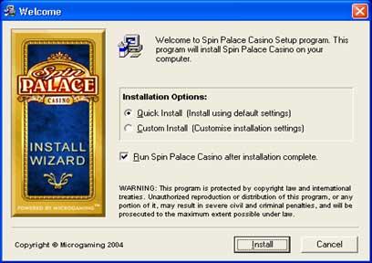 spela på Spin Palace Casino