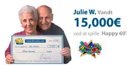 Heldig vinder hos EUcasino.dk