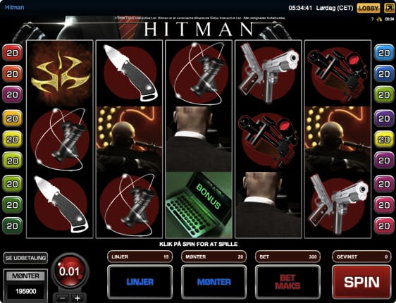 spilleautomat hitman pc