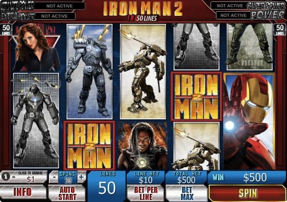Iron Man 2 Spillemaskine
