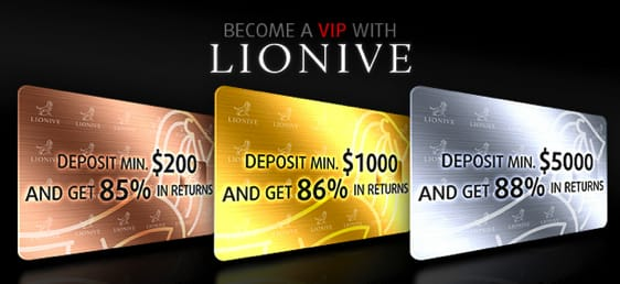 Lionive.com Bewertung: Beste Treueprogramme