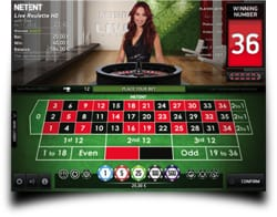 Live Casino Client fra NetEnt