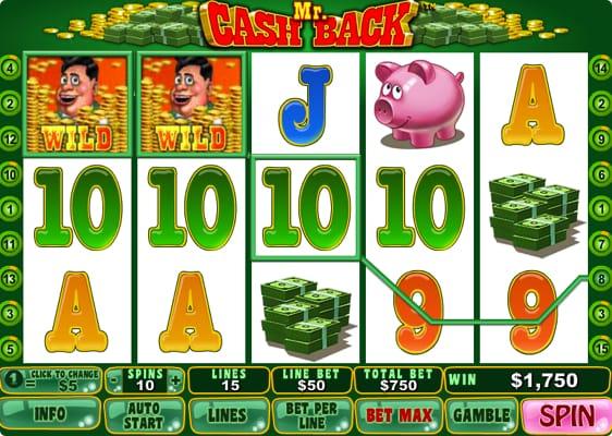 Mr Cach Back spilleautomat