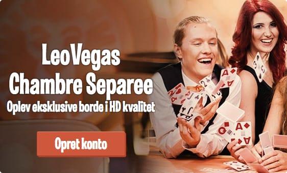 LeoVegas Danmark Live Casino