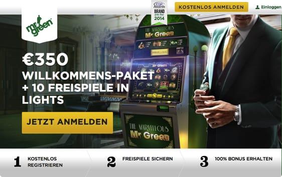 Mr Green 10 Freispielen
