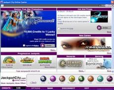 Jackpot City Lobby