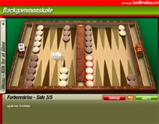 Backgammon Skole